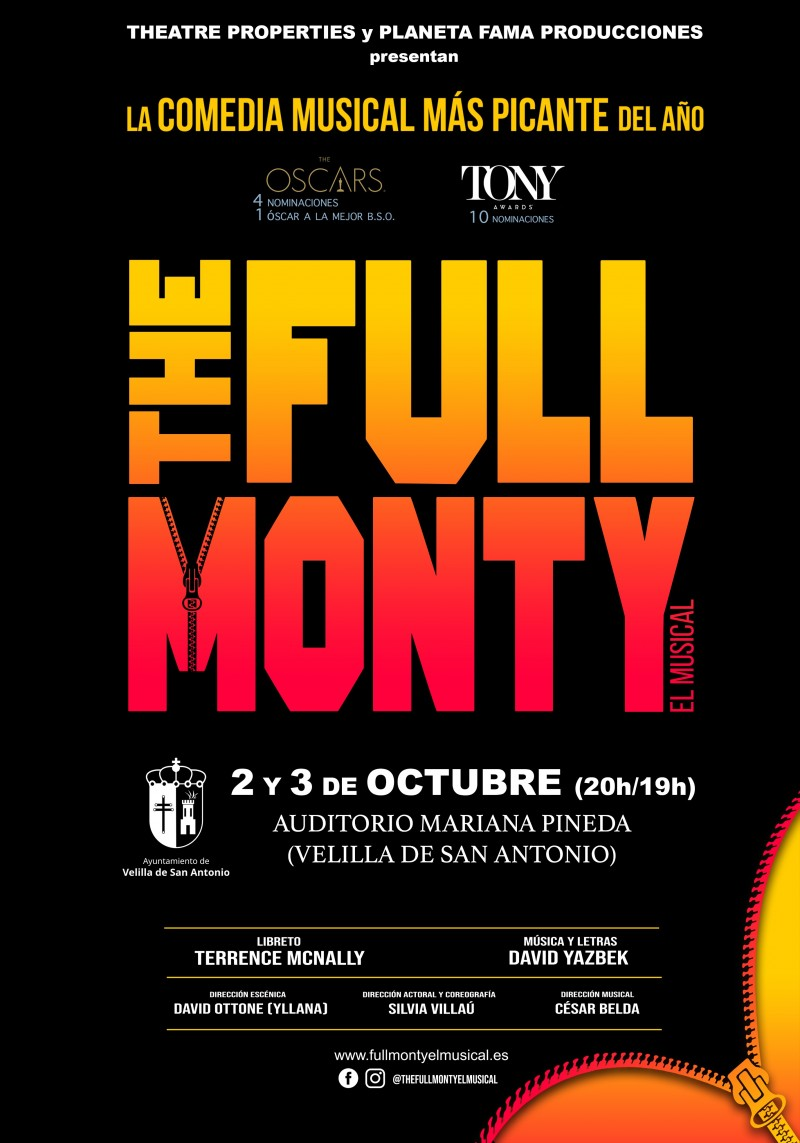 THE FULL MONTY, EL MUSICAL (Preestreno)