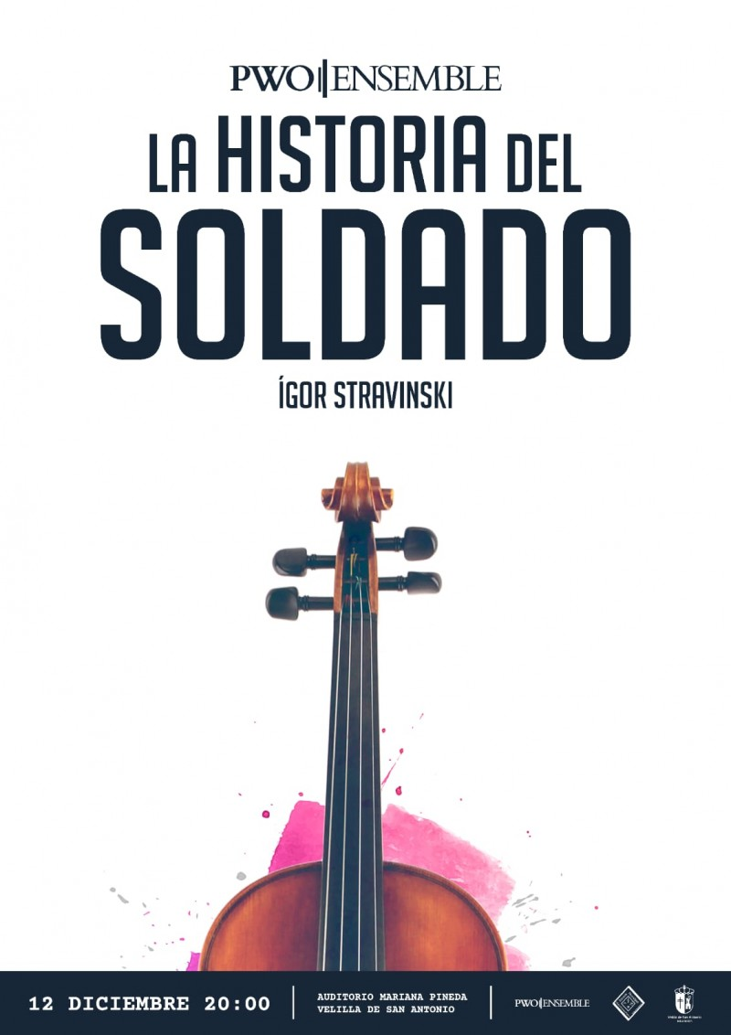 PWO/ENSEMBLE.  La Historia del Soldado.  Igor Stravinsky